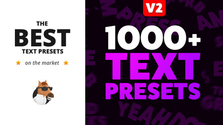Text Preset Pack for Animation Composer V2 8949951(With License)