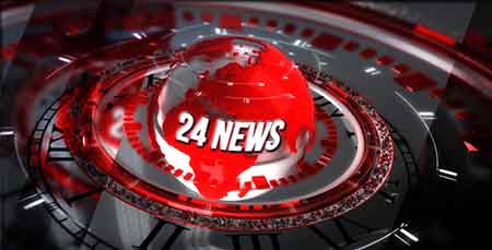24 Broadcast News - Complete Package After Effects Template