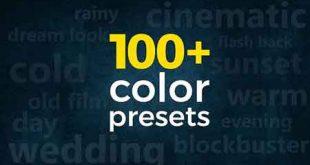 3 In 1 Pack 100 Cinematic Wedding Color Presets Premier Pro Template 21630012 Add On Files Included Prproj Prfpset
