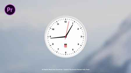 analog clock template