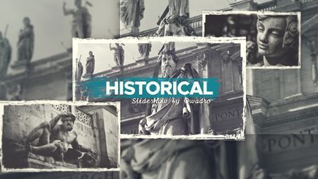 Historical Vintage Documentary Slideshow After Effects Template 21783704