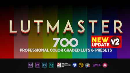 LUTMASTER - v2 0 (Last Update 2 May 18) After Effects Template 21633999