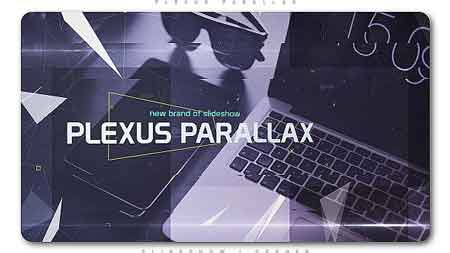 Plexus Parallax Slideshow Opener After Effects Template 20689393