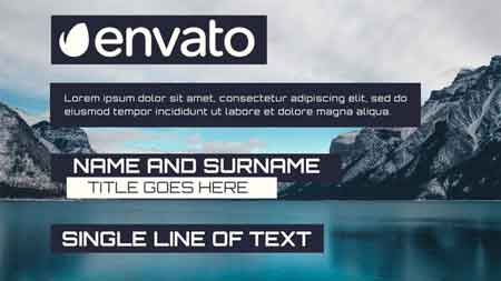 Simple Lower Third 3 0 Motion Graphics Template 9472720
