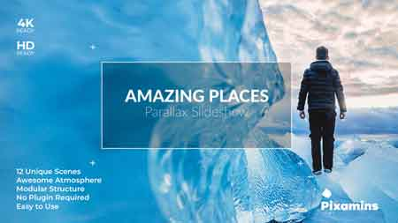 Amazing Places Parallax SlideShow 21634487 After Effects Template