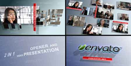 Business Screens (2 in 1) 724761 After Effects Template