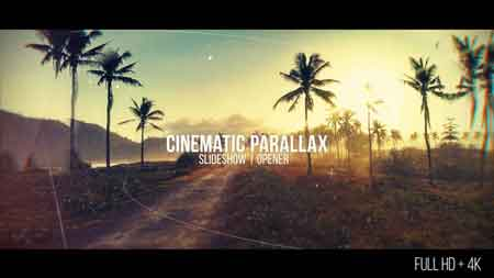Cinematic Parallax Slideshow 20481472 After Effects Template Free Download