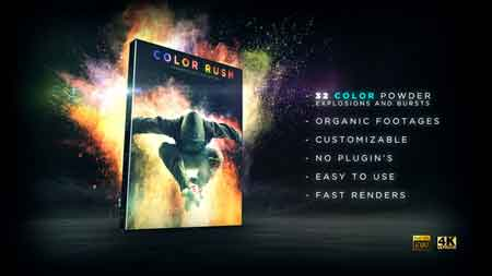 Color Rush 21797269 Motion Graphics