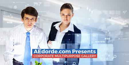 Corporate Multipurpose Gallery 11712143 After Effect Template