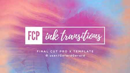 Ink Transitions - FCPX 19852756 - After Effects Projects