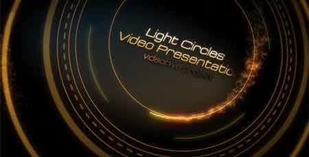 Light Circles 785984 After Effects Template