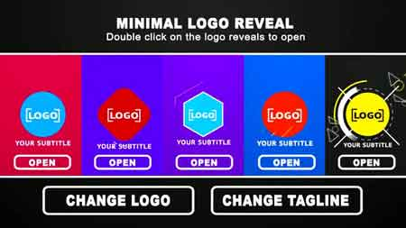 Minimal Logo Reveal 16537857 After Effect Template