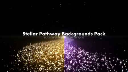 Stellar Pathway Backgrounds Pack Motion Graphics 11738703