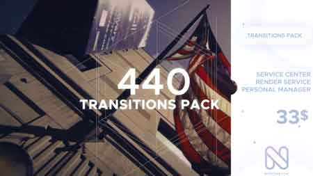 Transitions Pack V5 20074370 After Effects Template