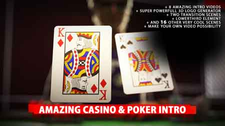 Amazing Poker Intro 20453990 After Effects Template