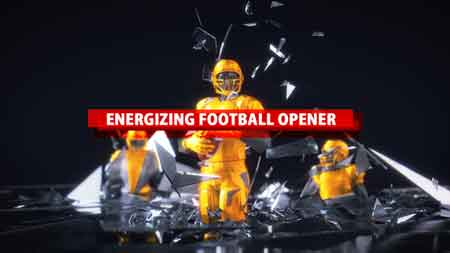 Energizing Football Opener 21141377 After Effects Template