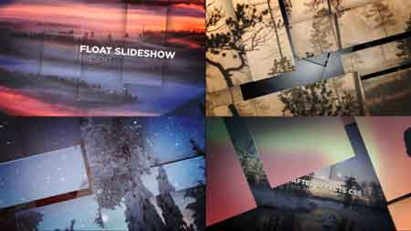 Float Slideshow 13640134 After Effects Template
