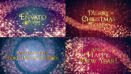 Holiday Titles 13922404 After Effects Template