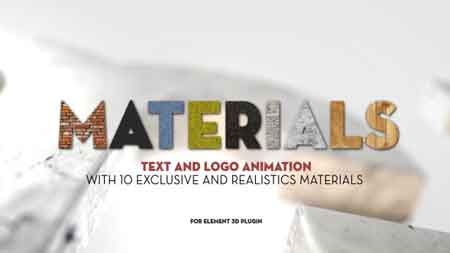 Materials 5434655 After Effects Template