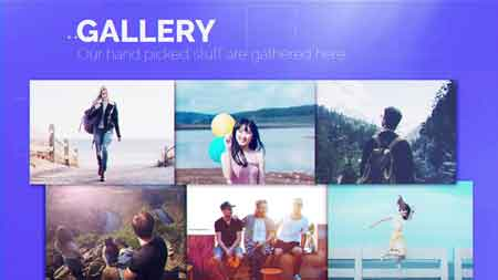 Minimal Portfolio Display 22412182 After Effects Template