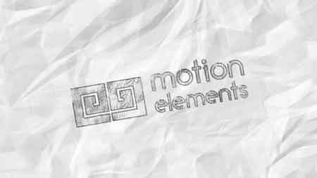MotionElements - Pencil sketch Logo - 11063683