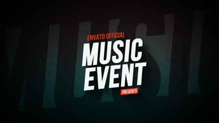 Music Event Promo 16781029 After Effects Template