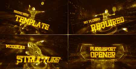 Plexus Sport Opener 18161123 After Effects Template