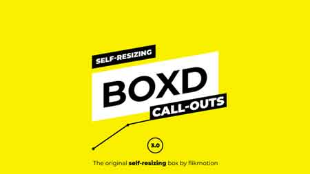 Self Resizing Call-Outs 20738123 After Effects Template