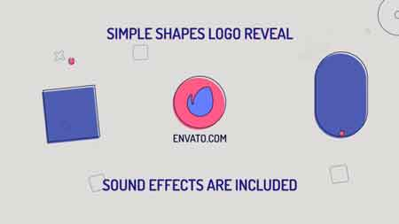 Simple Shapes Logo 21266274 After Effects Template