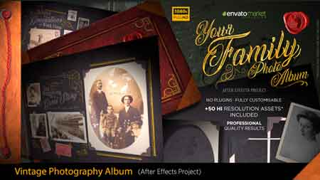 The Vintage Photography Album 20259566 After Effects Template