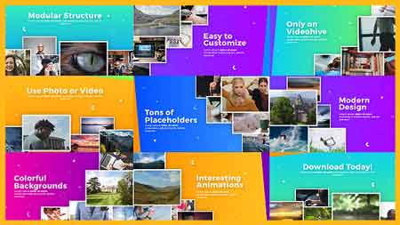 Uplifting Modern Slideshow 19270818 After Effects Template