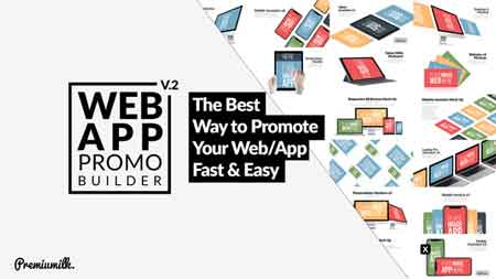 Web App Promo Builder V2 22035956 After Effects Template