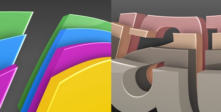3D Colorize Logo Reveal 2474135 After Effects Template