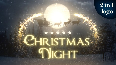 Christmas Night 2 in 1 18895038 After Effects Template