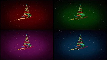 Christmas Tree Greetings 2019 9562150
