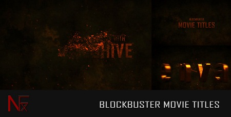 Cinematic Blockbuster Movie Titles 5564099 After Effects Template