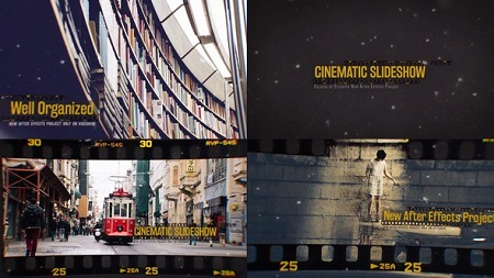 Cinematic Slideshow 15003147 After Effects Template