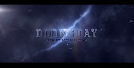 Doomsday Title Design 20728676 After Effects Template