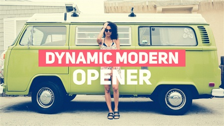 Dynamic Modern Opener 19406184 After Effects Template