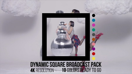 Dynamic Square Broadcast Pack 14886568
