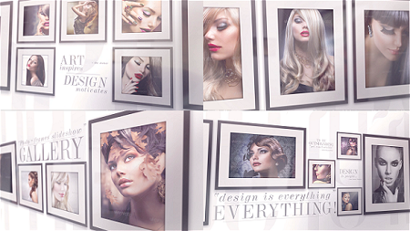 Elegant Photo Gallery On The Wall 10447020 After Effects Template