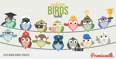 Explainer Birds Toolkit 11365647 After Effects Template