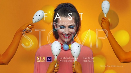 Fast Stomp Promo 22408307 After Effects Template