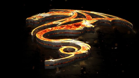 Flames 3D Logo 22134540 After Effects Template