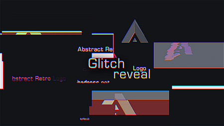 Glitch Logo Reveal 19298867 After Effects Template