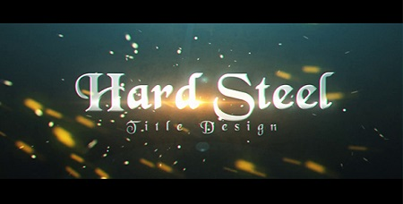 Hard Steel 18140292 After Effects Template