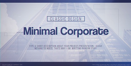 Minimal Corporate 20669663 After Effects Template