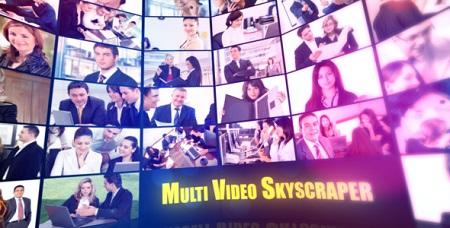 Multi Video Skyscraper-Corporate Template 2429261