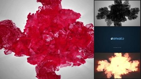 Particle Smoke Glitch - Logo Reveal 8206378