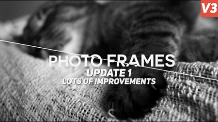 Photo Frames V3 6825972 After Effects Template